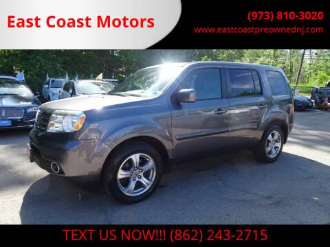 2014 Honda Pilot for sale at East Coast Motors in Lake Hopatcong NJ