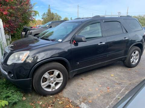 2010 GMC Acadia for sale at Excel Auto Sales LLC in Kawkawlin MI