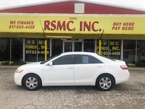 2009 Toyota Camry for sale at Ron Self Motor Company in Fort Worth TX