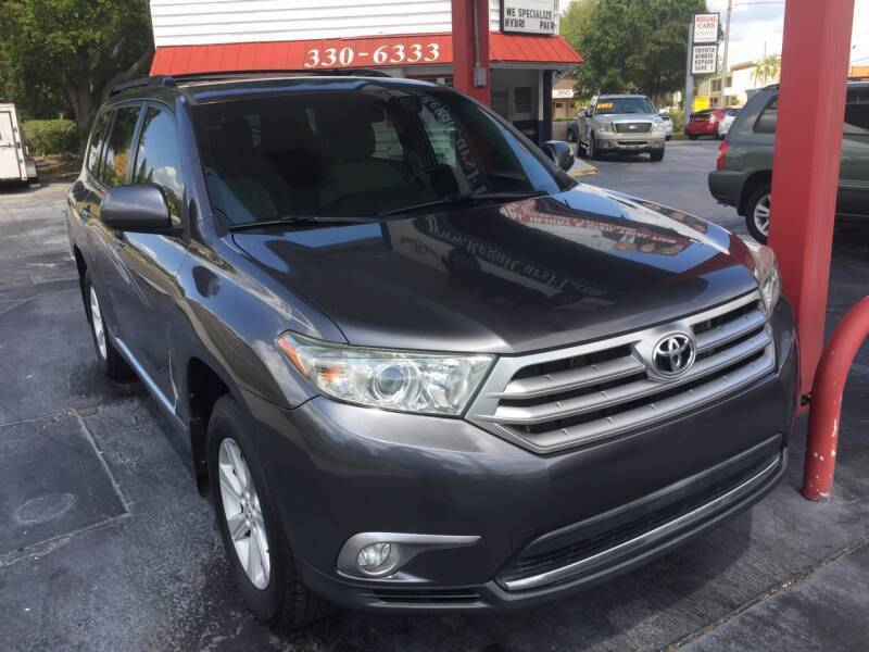 2012 Toyota Highlander for sale at Regal Cars of Florida-Clearwater Hybrids in Clearwater FL