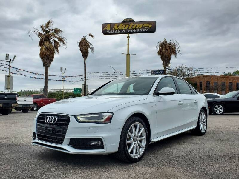 2016 Audi A4 for sale at A MOTORS SALES AND FINANCE - 5630 San Pedro Ave in San Antonio TX