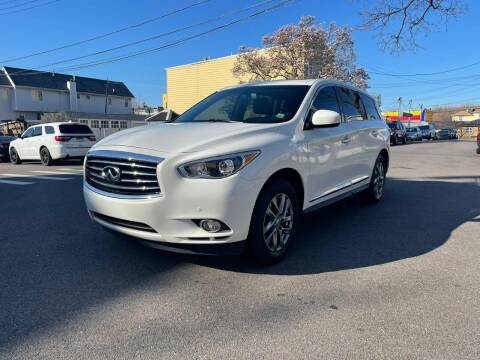 2013 Infiniti JX35 for sale at Kapos Auto, Inc. in Ridgewood, Queens NY
