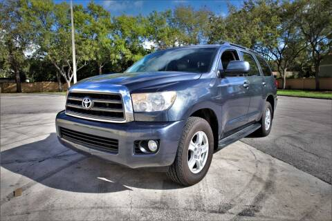 2008 Toyota Sequoia for sale at Easy Deal Auto Brokers in Hollywood FL
