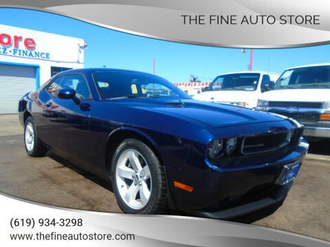 2014 Dodge Challenger for sale at The Fine Auto Store in Imperial Beach CA