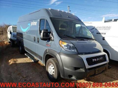 2021 RAM ProMaster Cargo for sale at East Coast Auto Source Inc. in Bedford VA