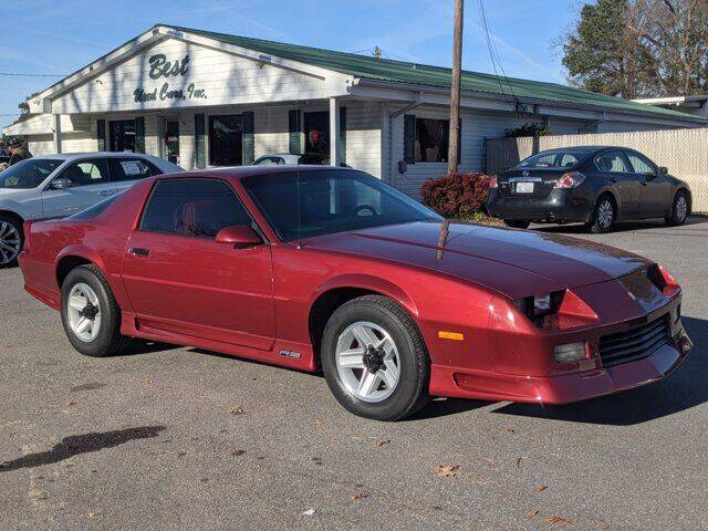 1991 Chevrolet Camaro for sale at Best Used Cars Inc in Mount Olive NC