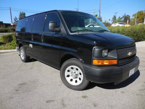 2013 Chevrolet Express Cargo for sale at ARAX AUTO SALES in Tujunga CA
