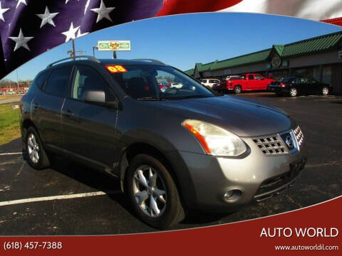 2008 Nissan Rogue for sale at Auto World in Carbondale IL
