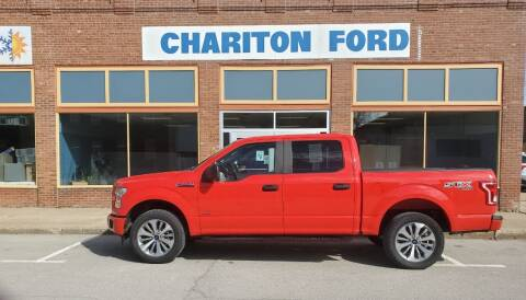 2017 Ford F-150 for sale at Chariton Ford in Chariton IA