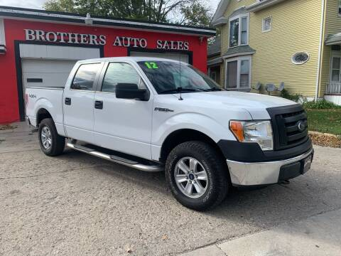 2012 Ford F-150 for sale at BROTHERS AUTO SALES in Hampton IA