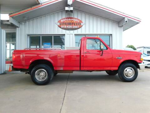 1996 Ford F-350 for sale at Motorsports Unlimited in McAlester OK