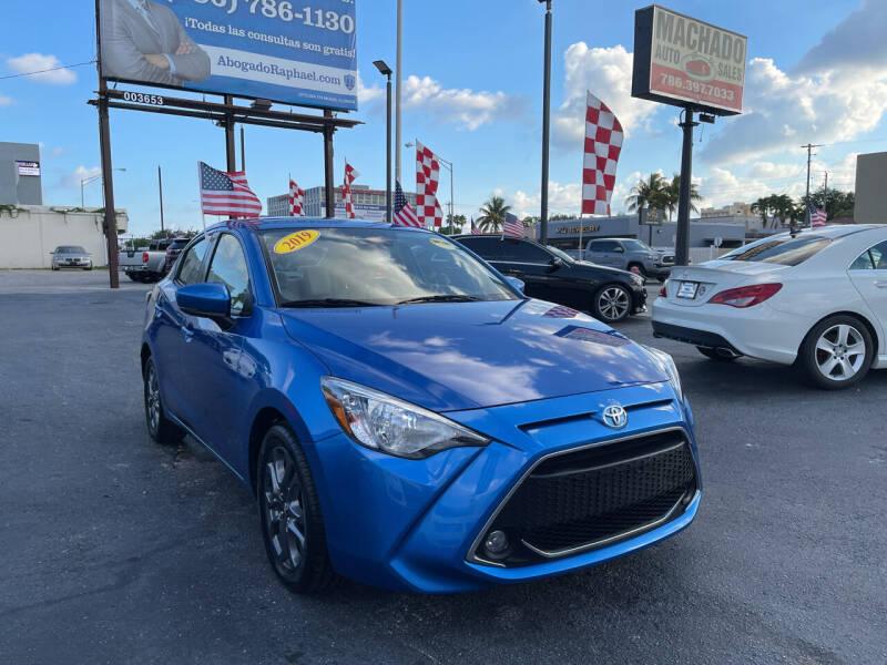 2019 Toyota Yaris for sale at MACHADO AUTO SALES in Miami FL