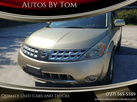 2006 Nissan Murano for sale at Autos by Tom in Largo FL