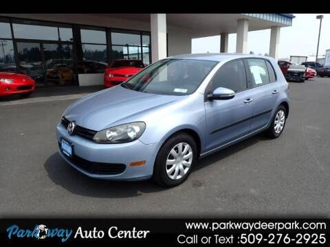 2010 Volkswagen Golf for sale at PARKWAY AUTO CENTER AND RV in Deer Park WA