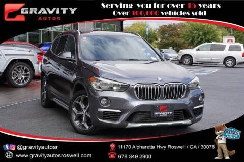 2018 BMW X1 for sale at Gravity Autos Roswell in Roswell GA