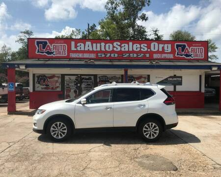 2017 Nissan Rogue for sale at LA Auto Sales in Monroe LA