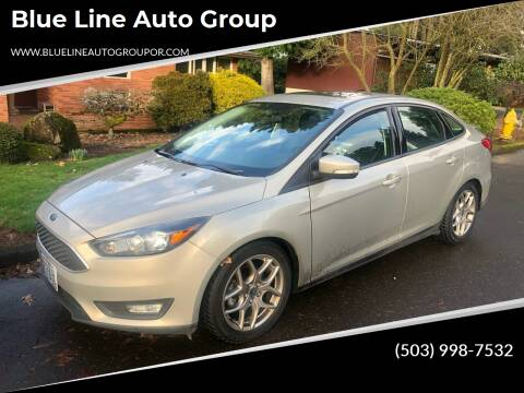 2015 Ford Focus for sale at Blue Line Auto Group in Portland OR