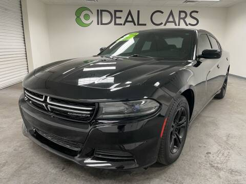 2015 Dodge Charger for sale at Ideal Cars Broadway in Mesa AZ