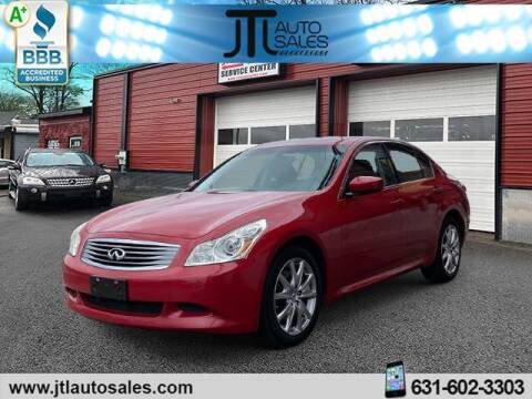 2009 Infiniti G37 Sedan for sale at JTL Auto Inc in Selden NY