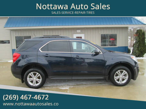 2015 Chevrolet Equinox for sale at Nottawa Auto Sales in Nottawa MI