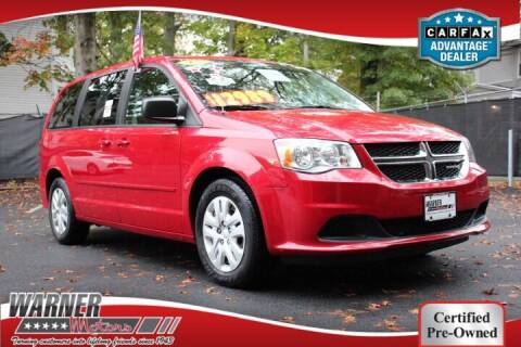 2015 Dodge Grand Caravan for sale at Warner Motors in East Orange NJ