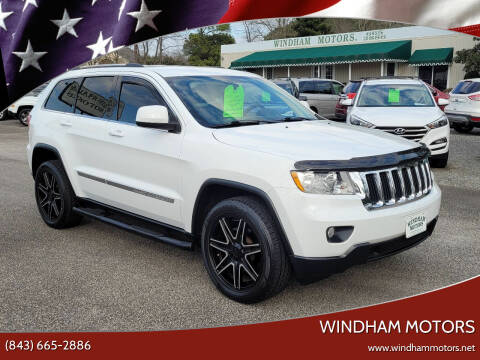 2013 Jeep Grand Cherokee for sale at Windham Motors in Florence SC