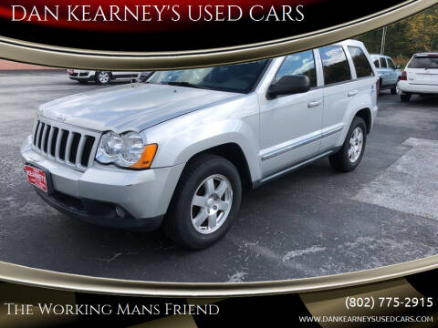 2010 Jeep Grand Cherokee for sale at DAN KEARNEY'S USED CARS in Center Rutland VT