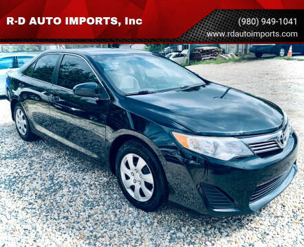 2013 Toyota Camry for sale at R-D AUTO IMPORTS, Inc in Charlotte NC