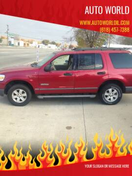 2006 Ford Explorer for sale at Auto World in Carbondale IL