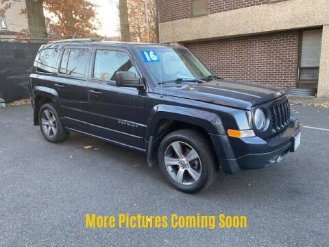 2016 Jeep Patriot for sale at Warner Motors in East Orange NJ
