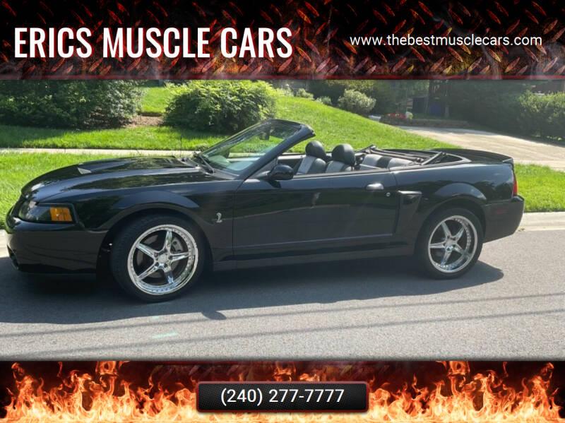 2003 Ford Mustang SVT Cobra for sale in Clarksburg, MD