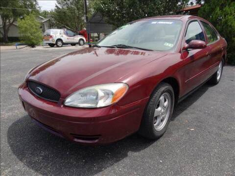 2006 Ford Taurus for sale at HOUSTON'S BEST AUTO SALES in Houston TX