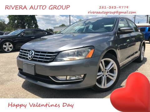 2013 Volkswagen Passat for sale at Rivera Auto Group in Spring TX