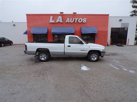 1999 Dodge Ram Pickup 1500 for sale at L A AUTOS in Omaha NE