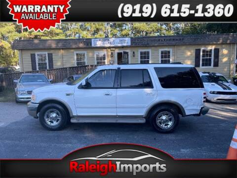 2000 Ford Expedition for sale at Raleigh Imports in Raleigh NC