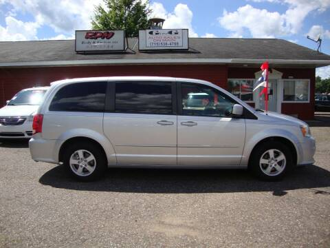2011 Dodge Grand Caravan for sale at G and G AUTO SALES in Merrill WI