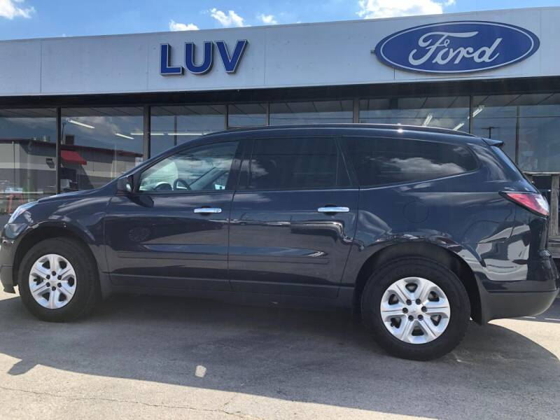 2016 Chevrolet Traverse for sale at Luv Motor Company in Roland OK