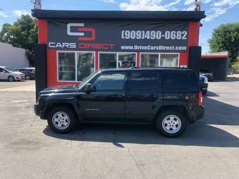 2012 Jeep Patriot for sale at Cars Direct in Ontario CA