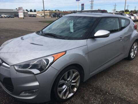 2012 Hyundai Veloster for sale at BARNES AUTO SALES in Mandan ND