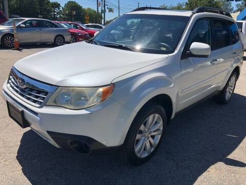 2011 Subaru Forester for sale at Capital Motors in Raleigh NC