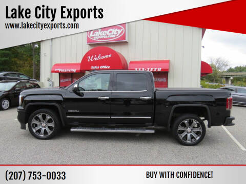 2017 GMC Sierra 1500 for sale at Lake City Exports in Auburn ME