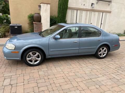 2001 Nissan Maxima for sale at California Motor Cars in Covina CA