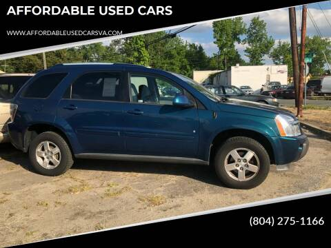 2006 Chevrolet Equinox for sale at AFFORDABLE USED CARS in Richmond VA
