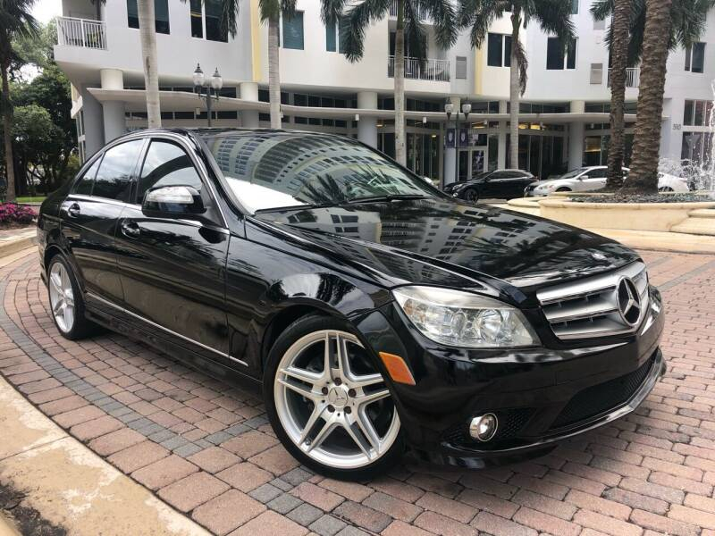 2008 Mercedes-Benz C-Class for sale at Florida Cool Cars in Fort Lauderdale FL