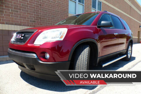 2011 GMC Acadia for sale at Macomb Automotive Group in New Haven MI