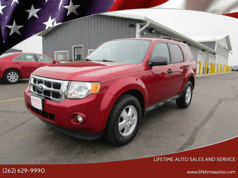 2011 Ford Escape for sale at Lifetime Auto Sales and Service in West Bend WI