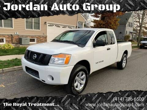2010 Nissan Titan for sale at Jordan Auto Group in Paterson NJ