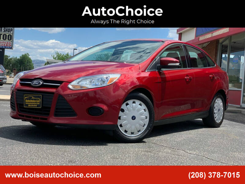2013 Ford Focus for sale at AutoChoice in Boise ID