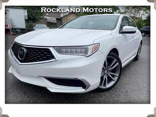 2019 Acura TLX for sale at Rockland Automall - Rockland Motors in West Nyack NY