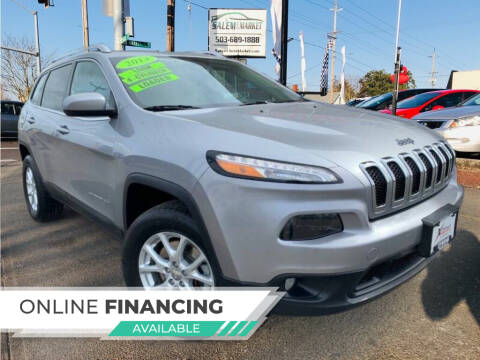 2014 Jeep Cherokee for sale at Salem Auto Market in Salem OR